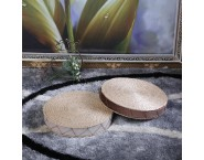 Simple Cattail Cushion for Zen Meditation
