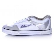 Warrior Footwear Basketball Shoes White Sliver Stripe