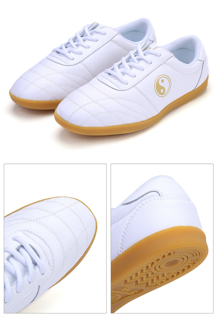 Leather Tai Chi Shoes Detail image