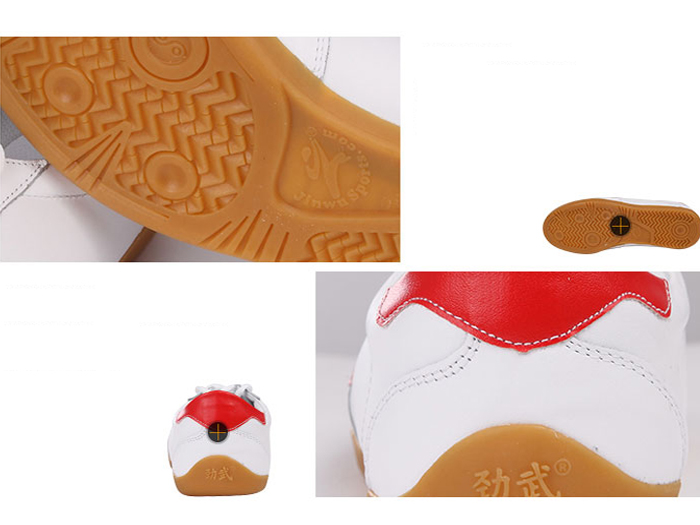 Leather Kung Fu Shoes Detail image