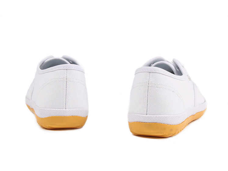 New style Feiyue plain lovers shoes white Detail image