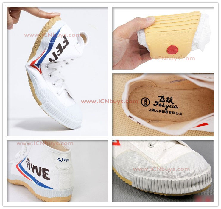 Feiyue High Top Shoes Detail image