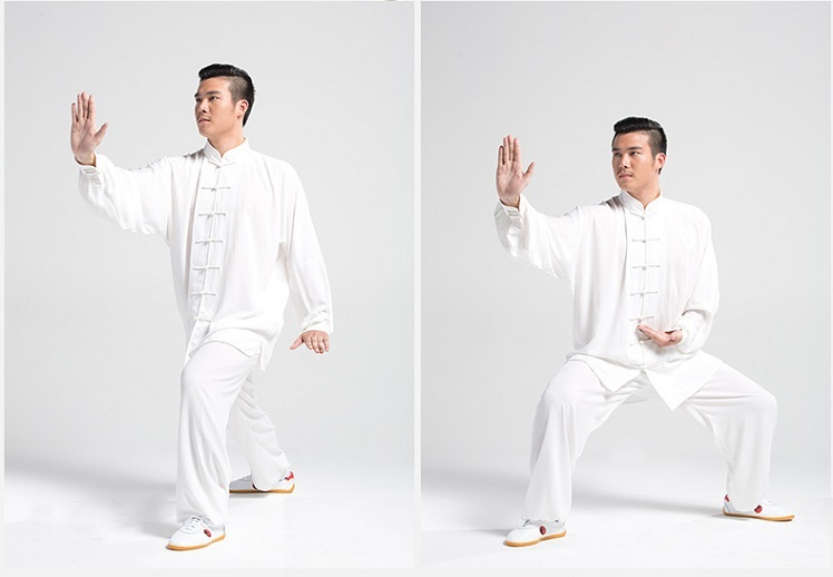 Tai Chi Clothing Set Professional White