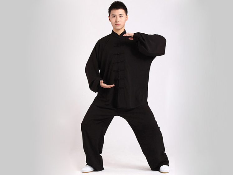 Tai Chi Clothing Uniform Black