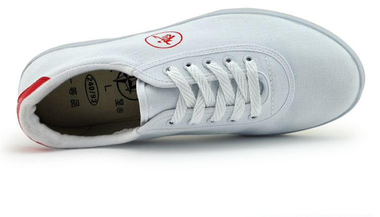 Kung Fu Shoes White