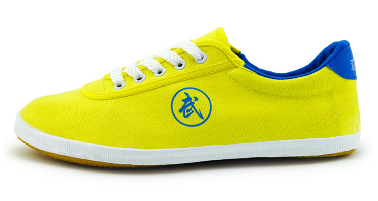 Tai Chi Shoes Yellow